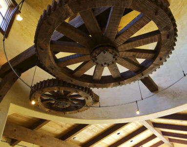 Mortise and Tenon Mill Wheels