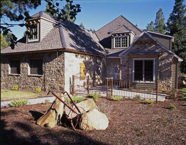 Aspen Lakes Manor, Sisters, Oregon. Custom built home by Jess Alway.
