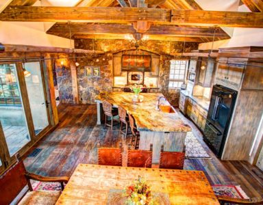 dining and kitchen high
