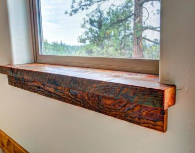 master bed window sill